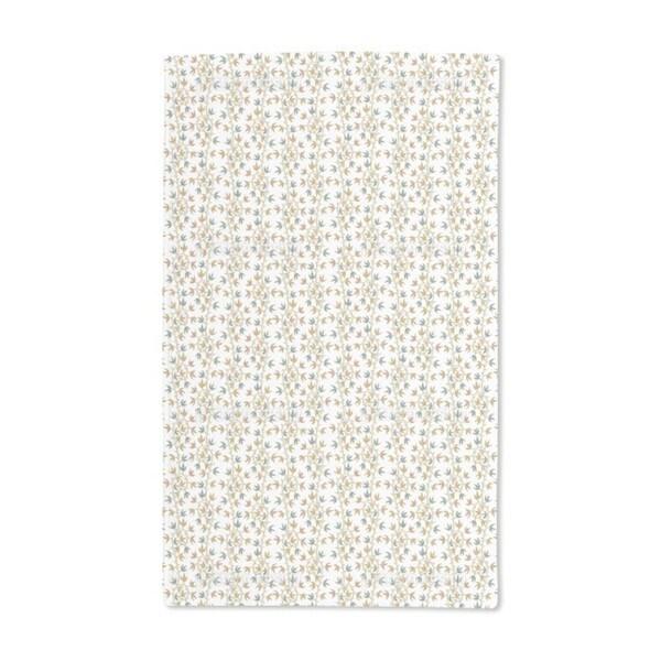 Ivy Tendrillars White Hand Towel (Set of 2)
