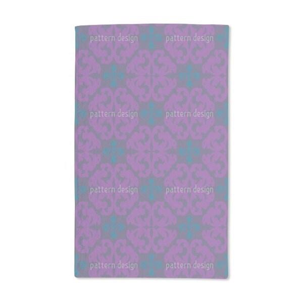 Paparock Purple Hand Towel (Set of 2)