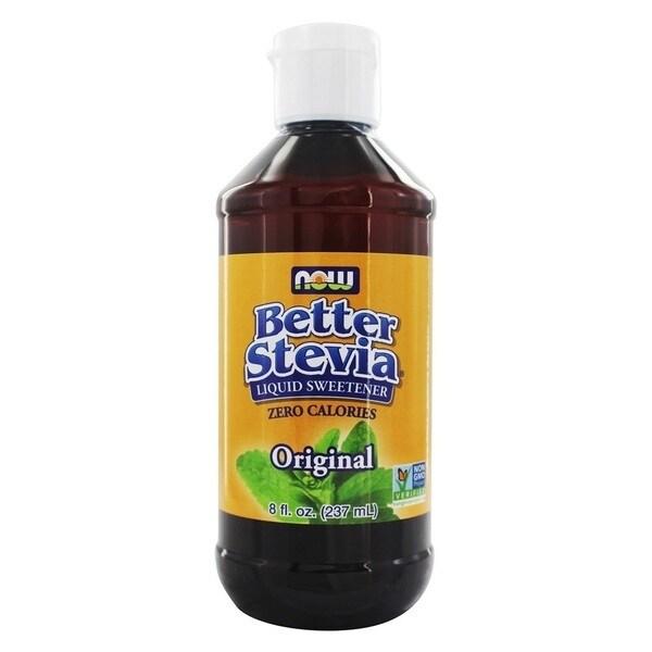 Now Foods Better Stevia Original 8-ounce Liquid Extract