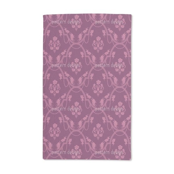 Rocko Pink Hand Towel (Set of 2)