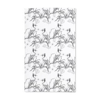 Birds on Branches Hand Towel (Set of 2)