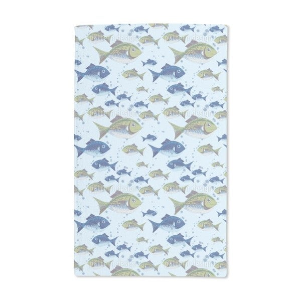 The North Sea Fish Hand Towel (Set of 2)