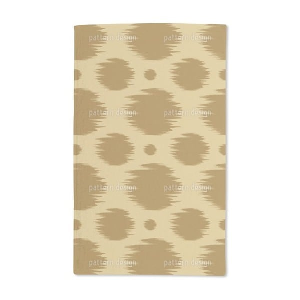 Dots in Fast Motion Hand Towel (Set of 2)