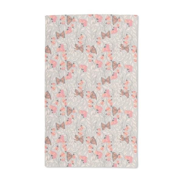 Monarch Summer Garden Hand Towel (Set of 2)