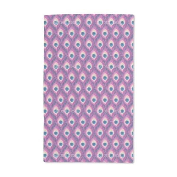Peacock Queen Hand Towel (Set of 2)