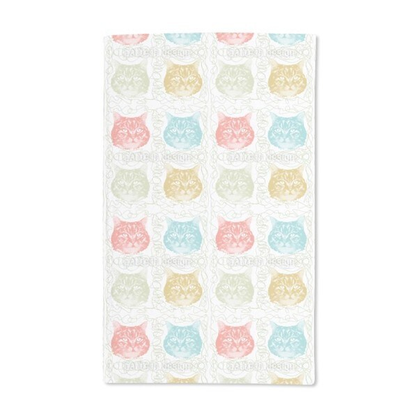Kitty Minka Loves Wool Hand Towel (Set of 2)