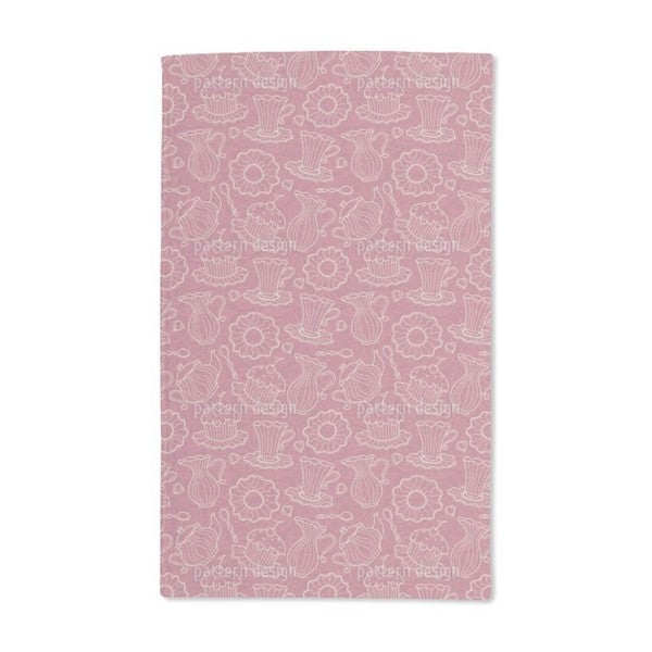 Hen Party Red Hand Towel (Set of 2)