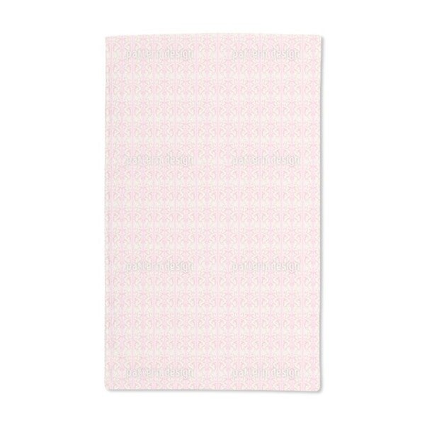 Strawberry on Striped Baroque Hand Towel (Set of 2)