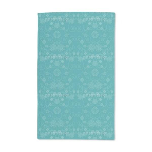 Irana Petrol Hand Towel (Set of 2)