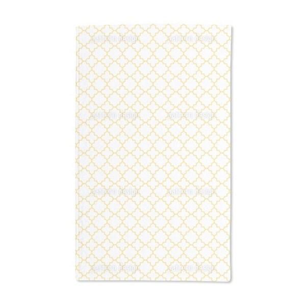 Traditional Quatrefoil Hand Towel (Set of 2)