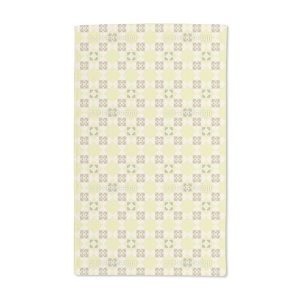 Ines Loves Yellow Flowers Hand Towel (Set of 2)