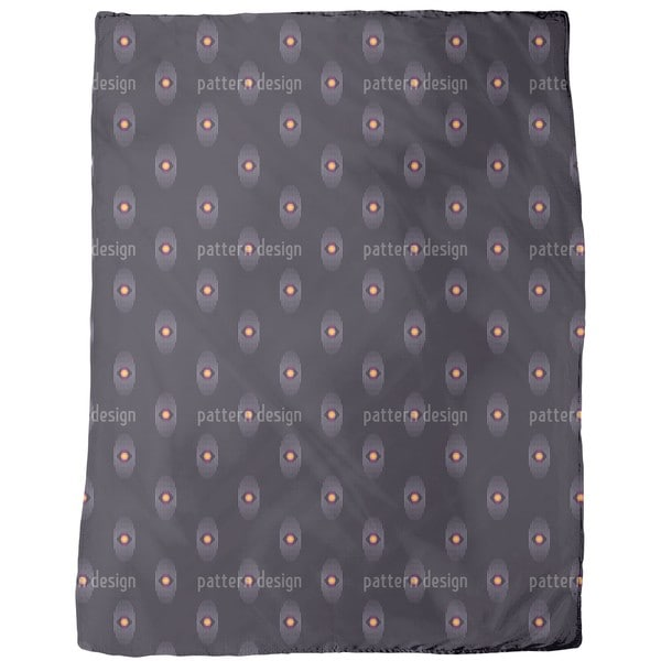 The Cosmic Eye Fleece Blanket