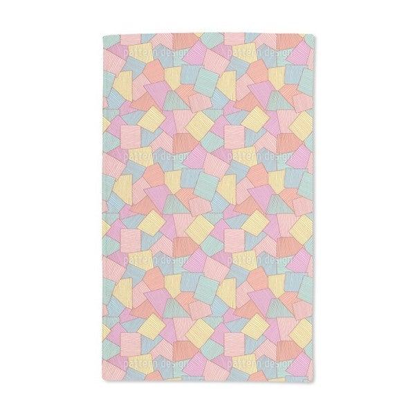 Abstract Tiles Hand Towel (Set of 2)