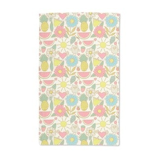 Owls on Holiday Hand Towel (Set of 2)