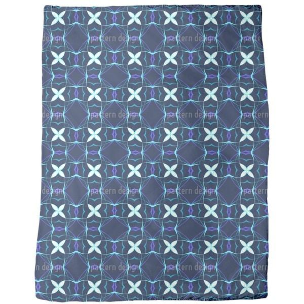Futura Blue Fleece Blanket