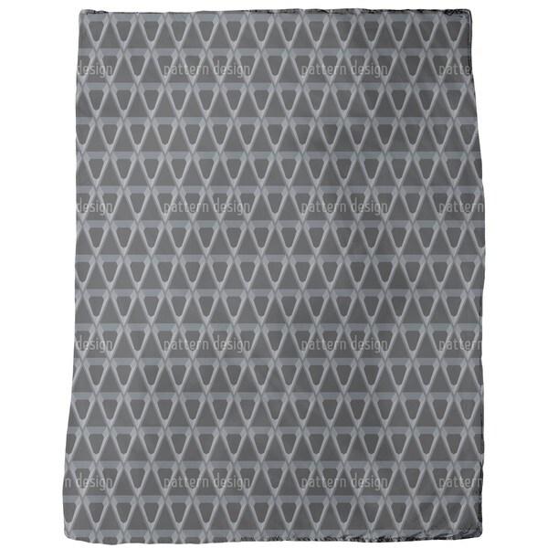 Polygon Fleece Blanket