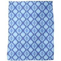 Techno Crystals Fleece Blanket