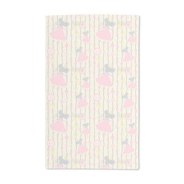 Little Mice Princess Birthday Hand Towel (Set of 2)