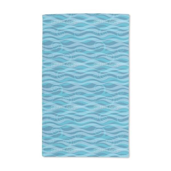 Triton Aqua Hand Towel (Set of 2)