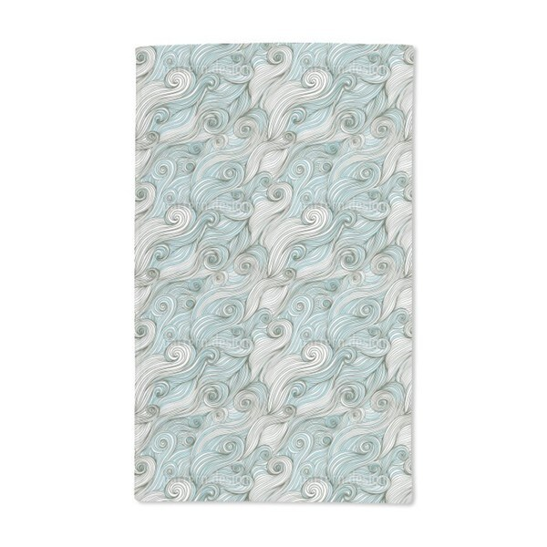 God of the Ocean Hand Towel (Set of 2)