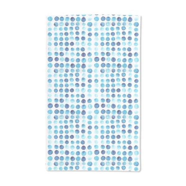 Watercolor Polka Dot Hand Towel (Set of 2)