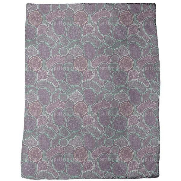 Micronesian Virus Fleece Blanket
