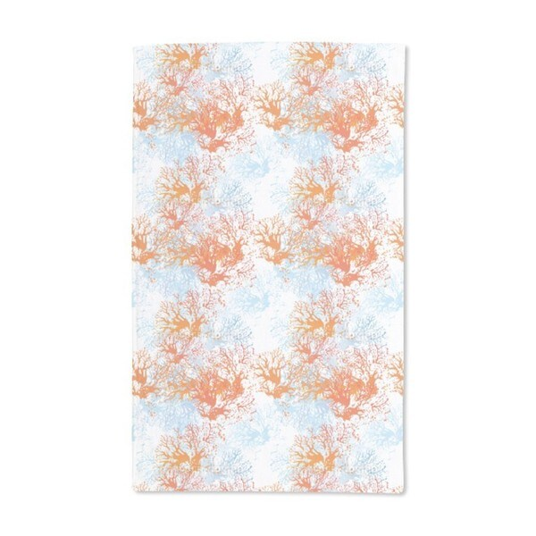 Coral Garden Hand Towel (Set of 2)
