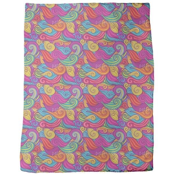 New Wave Fleece Blanket