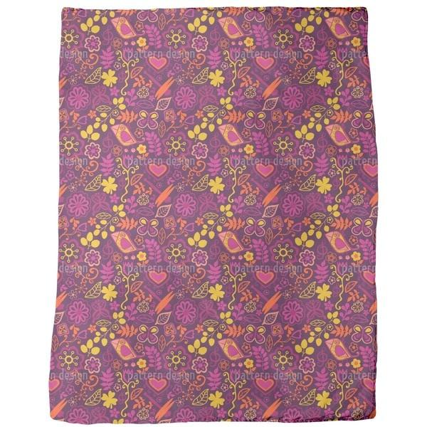 Piepsi in the Disco Jungle Fleece Blanket