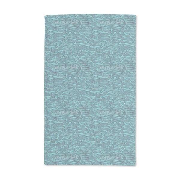 The Mermaids Gentle Swell Hand Towel (Set of 2)