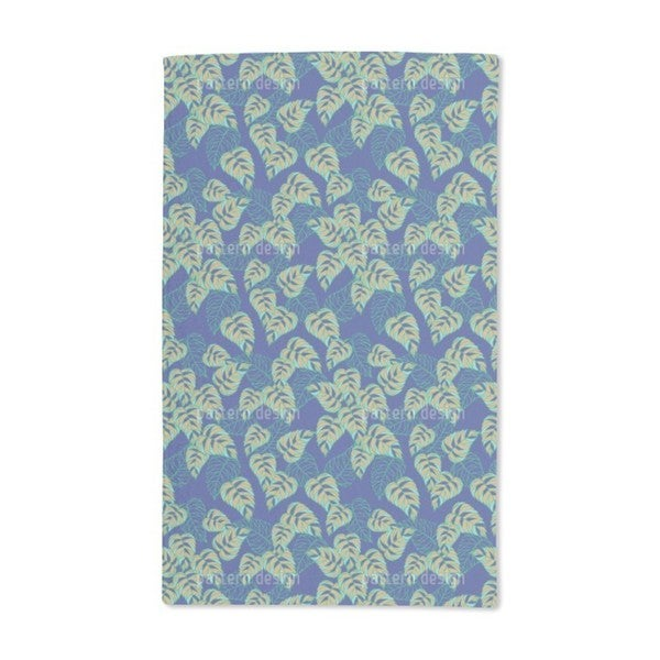 Birch Leaf at Night Hand Towel (Set of 2)