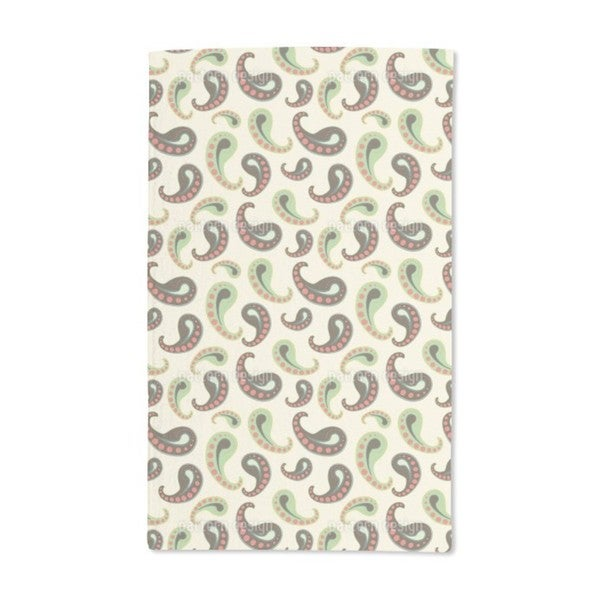Softice Paisley Hand Towel (Set of 2)