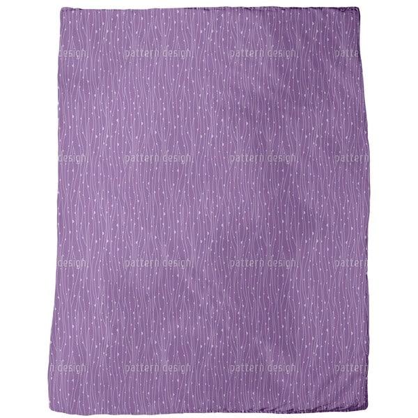 Dewdrops Fleece Blanket