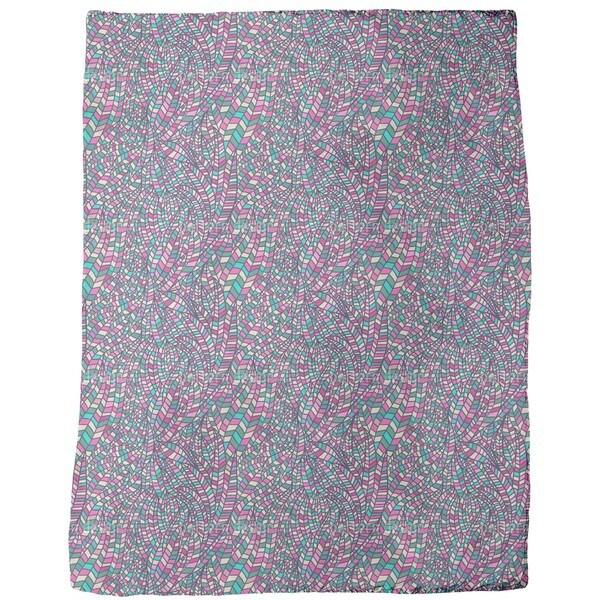 In the Land of Hundertwasser Fleece Blanket