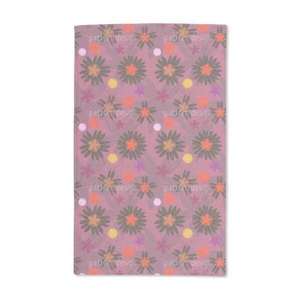 Flower Fantasy Hand Towel (Set of 2)