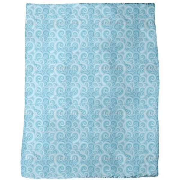 Wavy Fantasy Fleece Blanket
