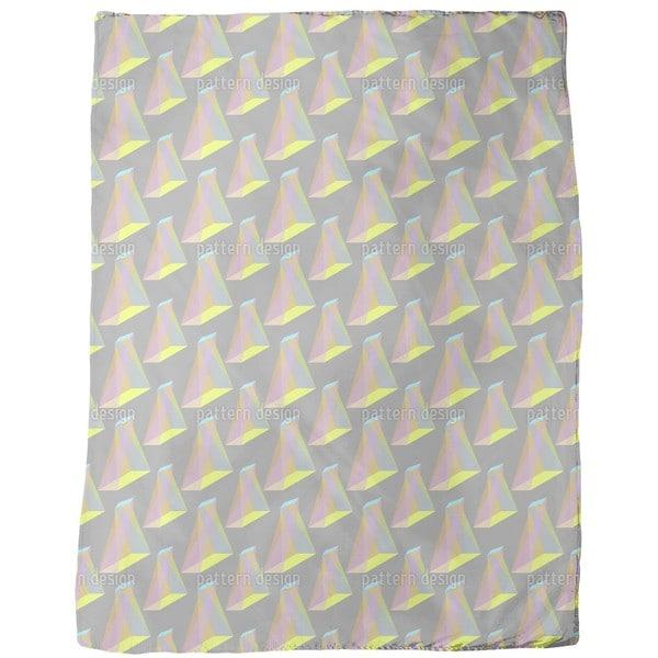 Object Twist Fleece Blanket