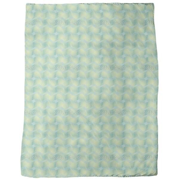 Fresh Microwaves Fleece Blanket
