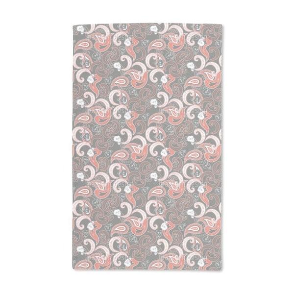 Rocking Orient Grey Hand Towel (Set of 2)