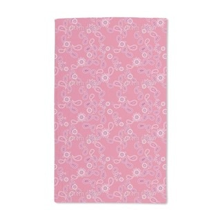Paisley in Pink Hand Towel (Set of 2)