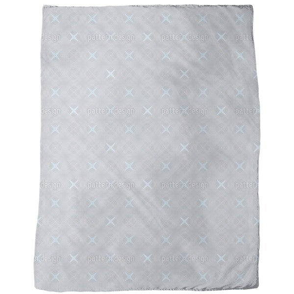 Arctic Coordinates Fleece Blanket