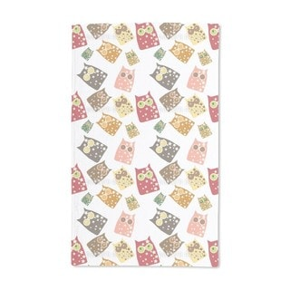 Owl Show Hand Towel (Set of 2)