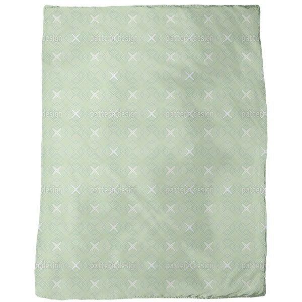 Spatial Coordinates Fleece Blanket