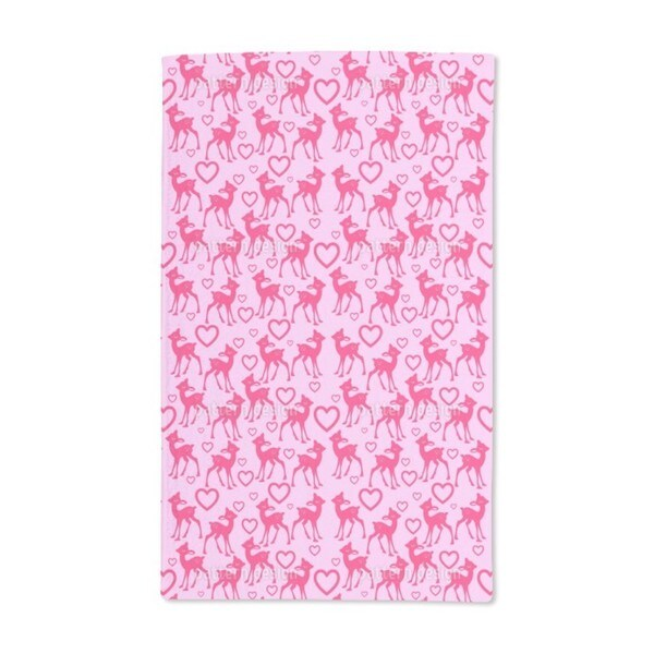 Little Fawn Hand Towel (Set of 2)