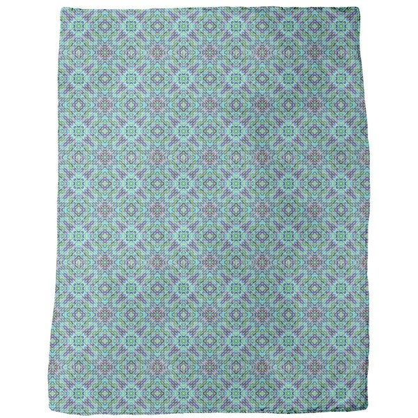 Mosaic Dimension Fleece Blanket