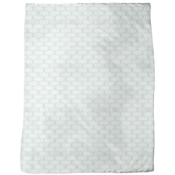 Wire Ogee Fleece Blanket