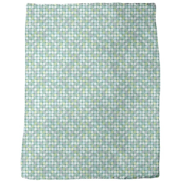 Crystal Glass Fleece Blanket