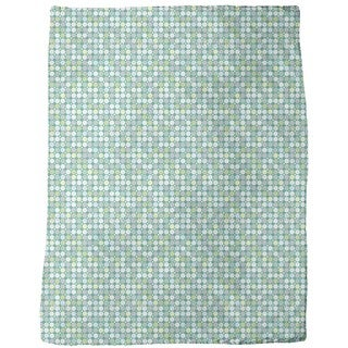 Crystal Glass Fleece Blanket