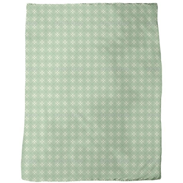 Delicate Vintage Diamond Fleece Blanket