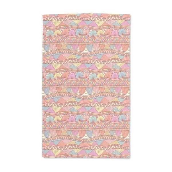 Ethno Color Burst Hand Towel (Set of 2)